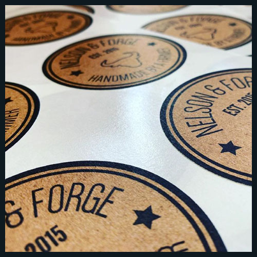 Stickers and Label Design - Bristol, Clevedon and UK